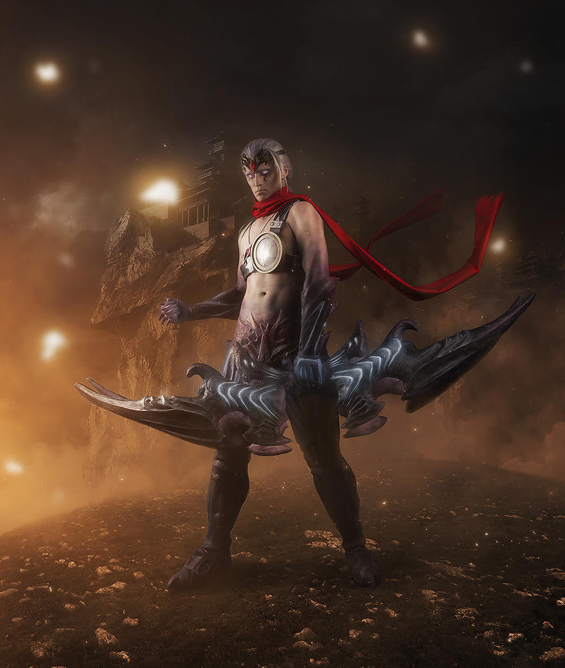League of Legends Varus cosplay by Ragnaradi
