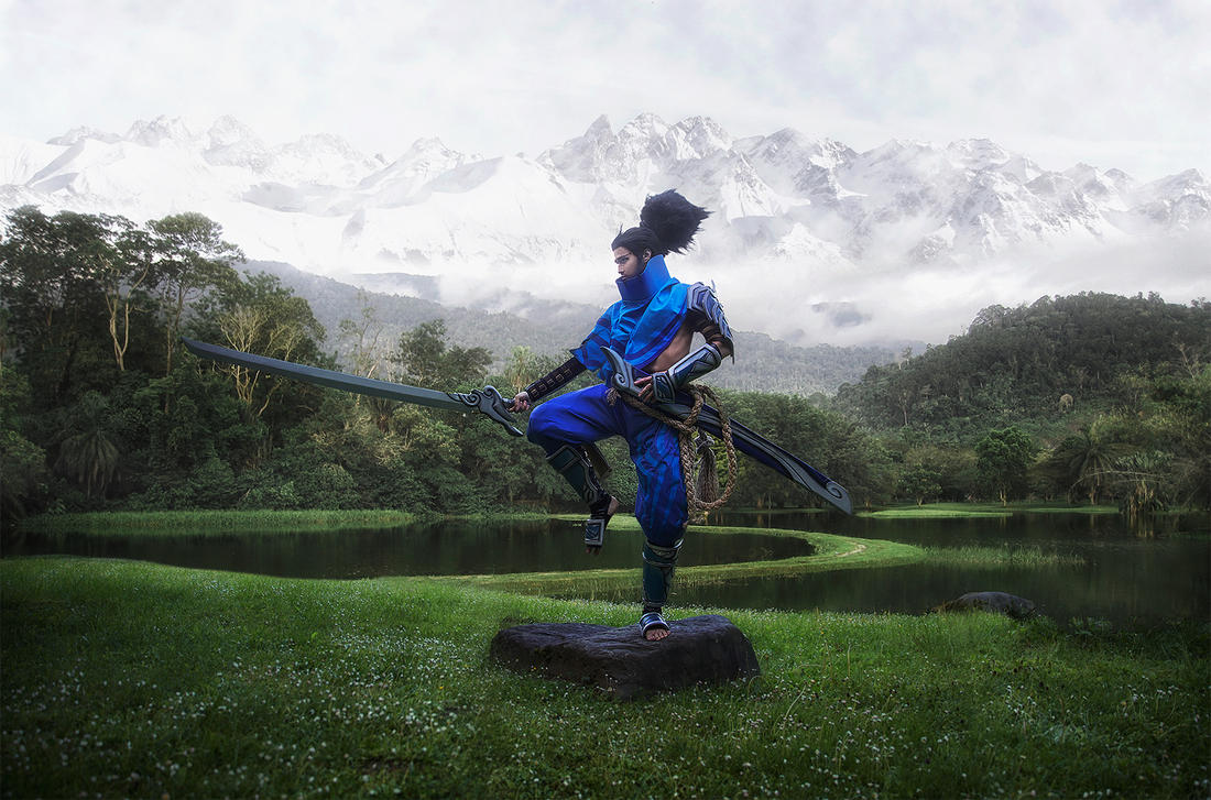 One blade, one purpose (Yasuo cosplay) by Ragnaradi