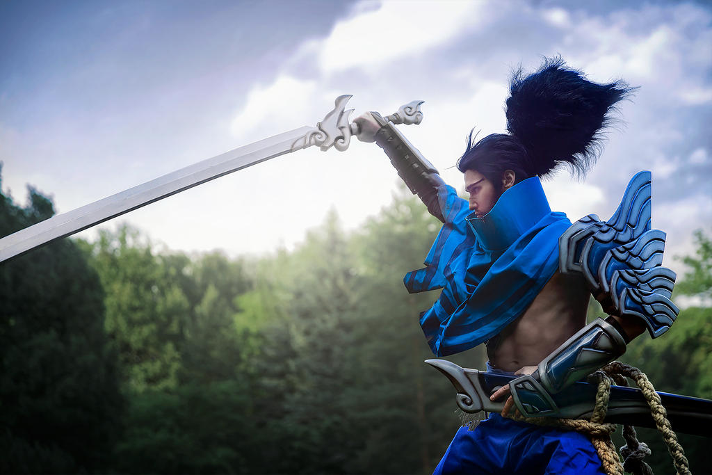 I will follow the truth. (Yasuo cosplay) by Ragnaradi
