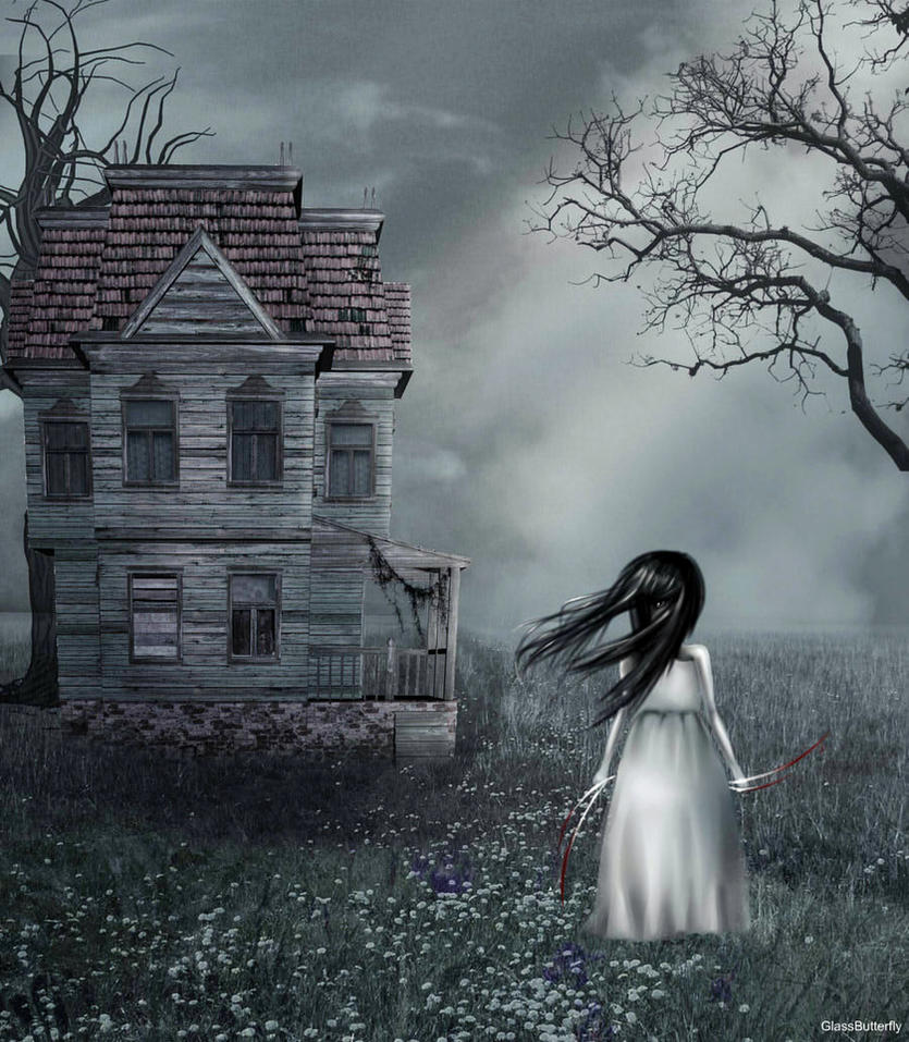 Gloomy girl by Obi-Feyn