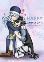 Happy Gruvia Day!! by xmelonhippo