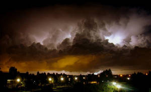 Lighting over the Hague -2-