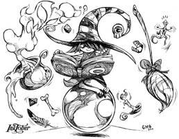 Lil Witch by gmoshiro