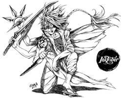 Asura Ninja by gmoshiro