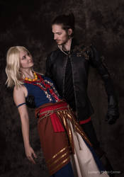 Witcher Lambert and Keira Metz - Witcher 3 by MrFifiak