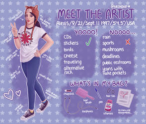 Meet The Artist! by lexbug11