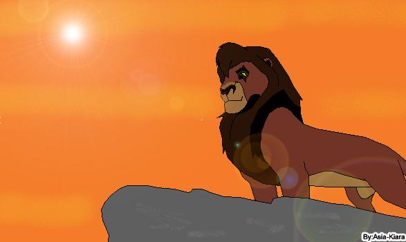 Kovu nev Lion King by Asia-Kiara