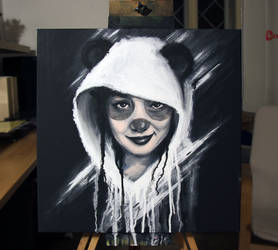 2014-22 Panda Girl by juroo