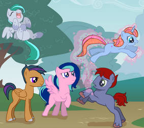 Pony Friends by Anime-Tenshi22