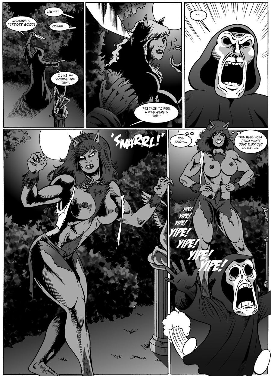 Female werewolf anime hentay images
