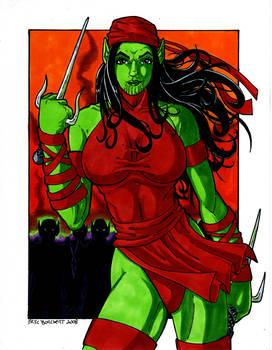 Secret Invasion Electra Skrull