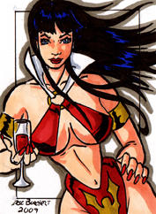 Vampirella Sketch Card 2009