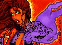 Starfire Sketch Card 2009