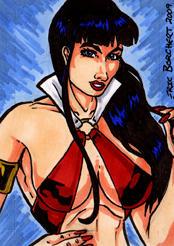Vampirella Sketch Card 2009 2