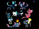 Adoptable kitties!
