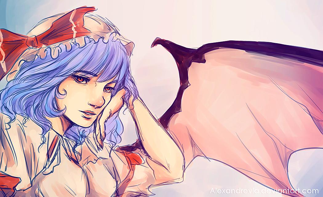 |Remilia sketch by Alexandrevla