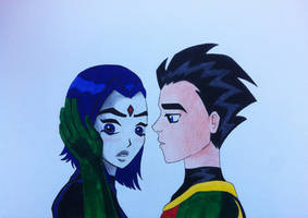 The Doubt - Raven and Robin by CharlottePG