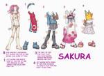 Sakura Paperdoll