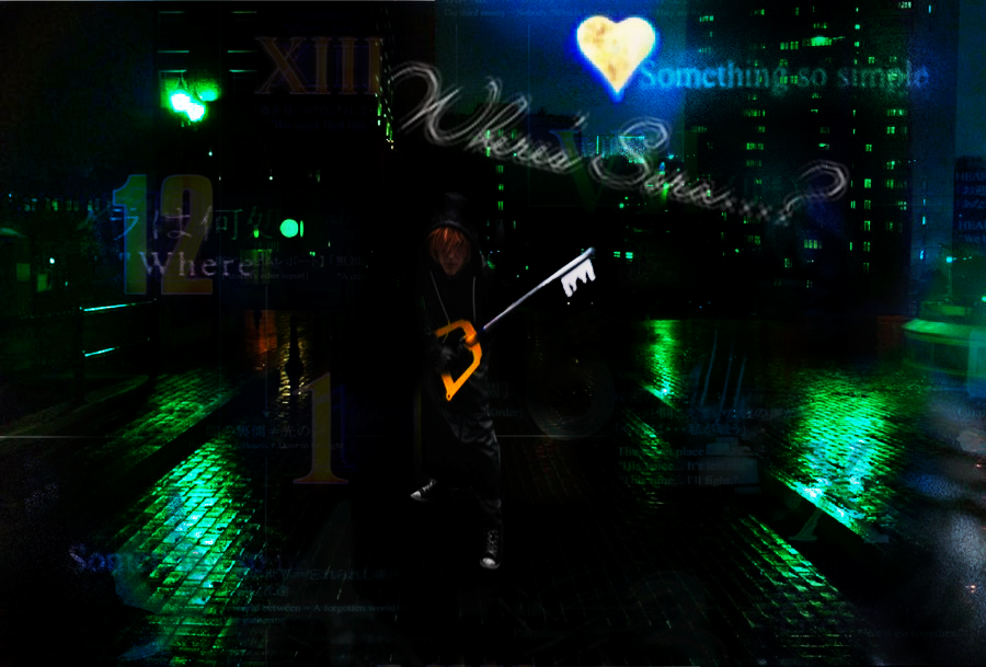 Deep dive cosplay by lazzxion keyblade on deviantart - Kingdom hearts deep dive ...