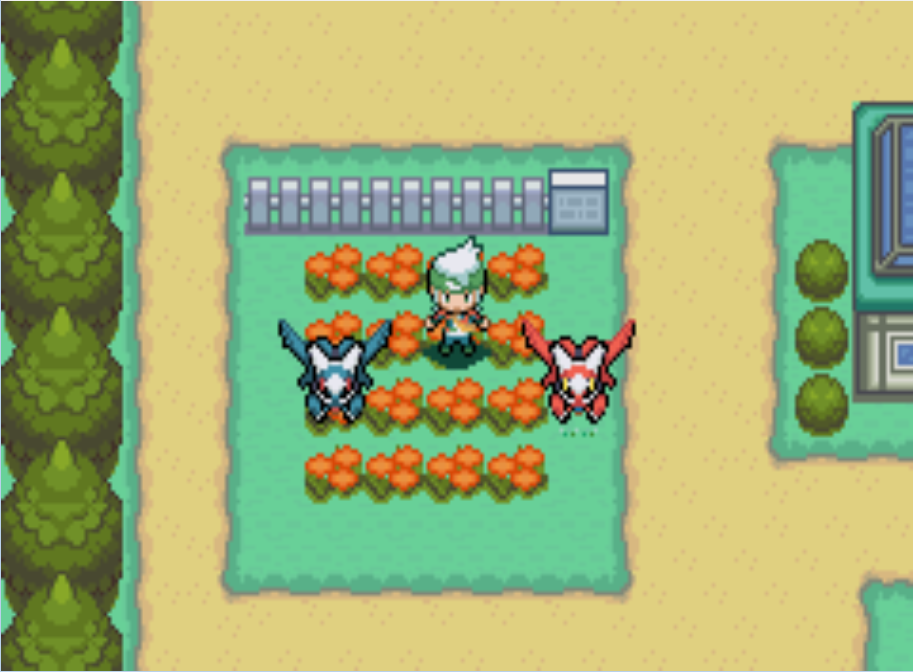 Project Pokemon Emerald Shimmer Latios And Latias By