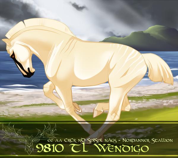 9810 TL Wendigo by xanora