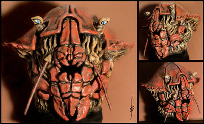 Qaash'Saerakk - Crab mask