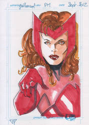 Scarlet Witch by guillomcool