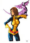 Kitty Pryde and Lockheed Colors