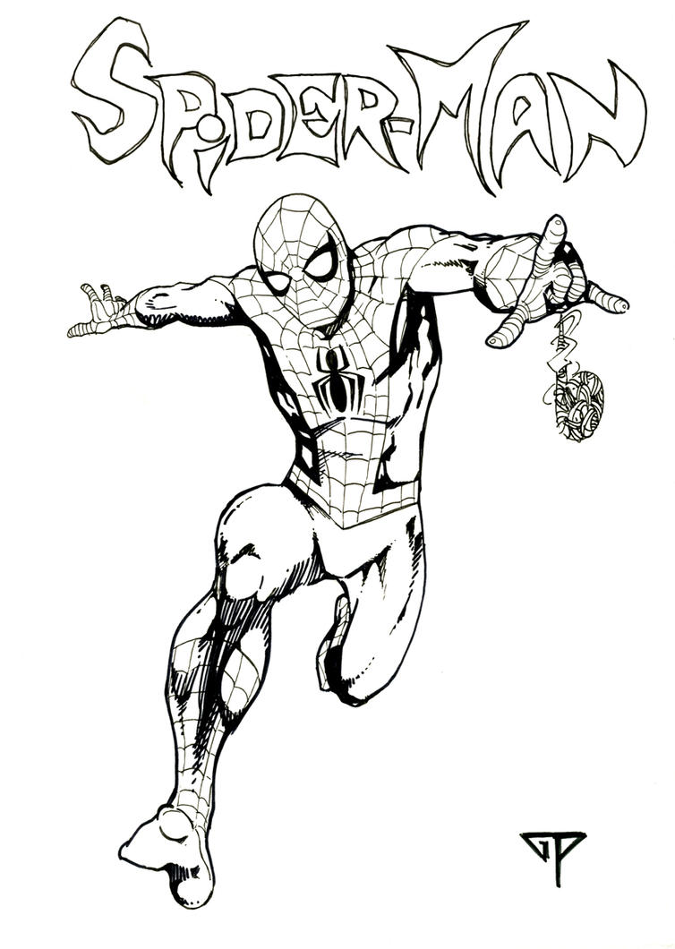 Spiderman 4 Theophile - 2016 by guillomcool