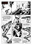 Tornado Phoenix page 1 inked by guillomcool