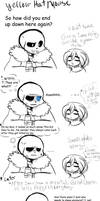 Frisk's bad joke by Y3llowHatMous3