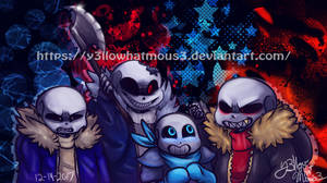 :4 SaNs: by Y3llowHatMous3