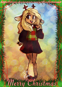 Noelle Merry Christmas by Y3llowHatMous3