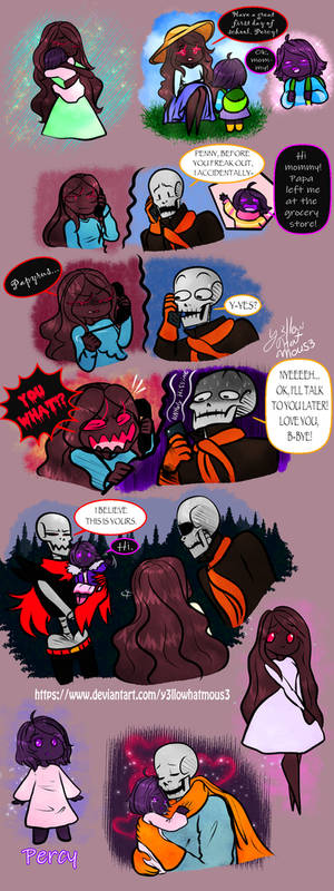 Papyrus, Penny and Percy