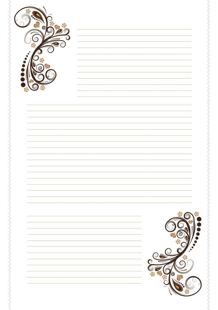 Free Printable Stationery Paper Designs
