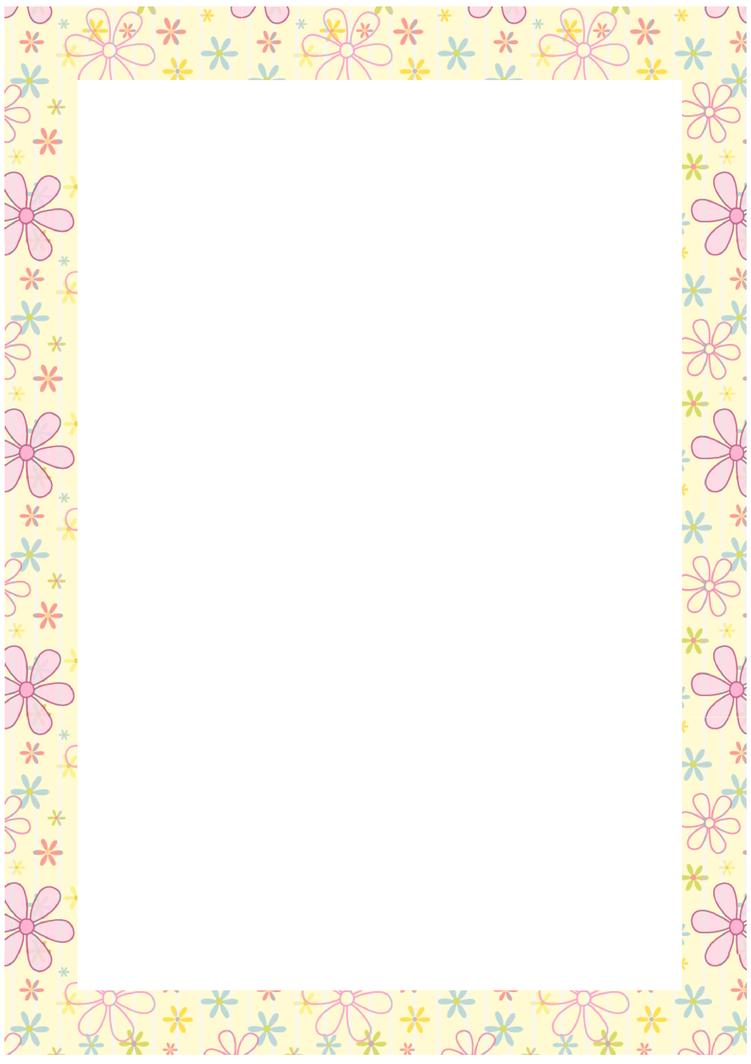 Free stationary flower border by cpchocccc on deviantart for Free garden border designs