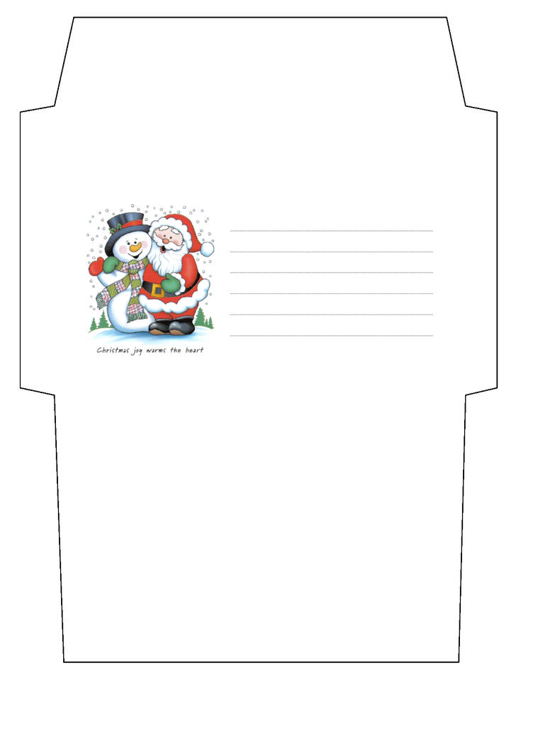 envelope for letter to santa claus craft border santa envelope template by cpchocccc on deviantart 642