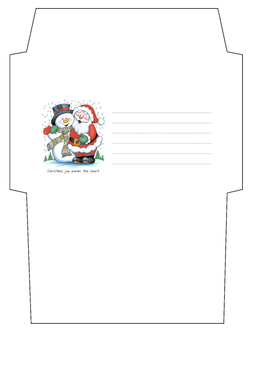 christmas envelope template by cpchocccc christmas envelope template by cpchocccc