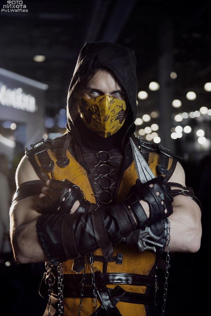 Scorpion Cosplay mortal kombat X