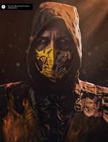Scorpion Cosplay mortal kombat X by melonicor