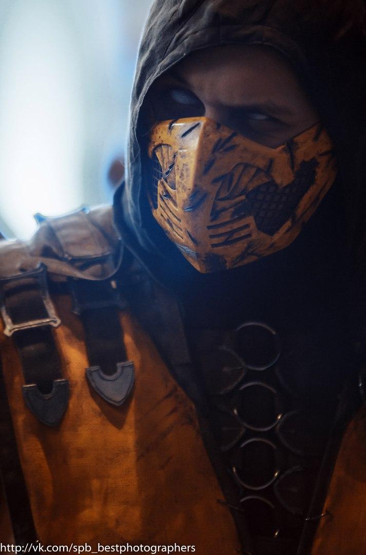 Scorpion Cosplay mortal kombat X by melonicor on DeviantArt