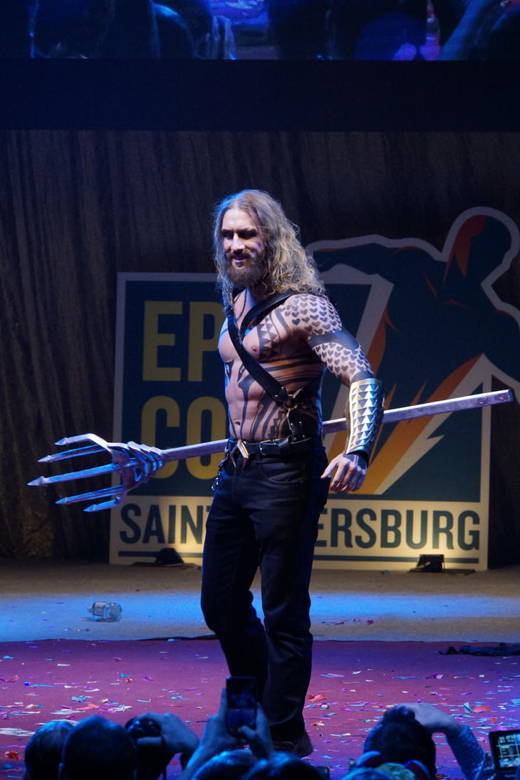 aquaman cosplay by melonicor