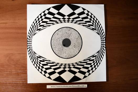 Geometric Drawing Eye