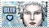 Blue Love Stamp by Fiji-Fujii