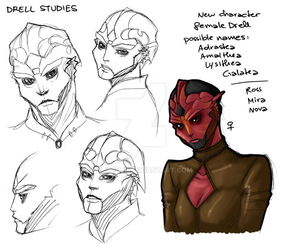 Drell Studies by Fiji-Fujii