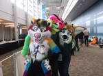 A Rainbow of Fluff at Nekocon 2015 by IamAwesomeStudios