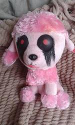 Zombie Poodle Custom Plushie by IamAwesomeStudios