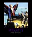 Dignity a la Pertwee
