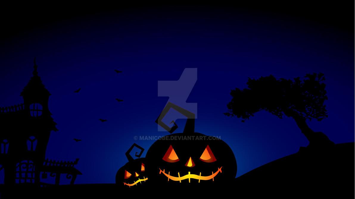 Halloween Background by manicobe