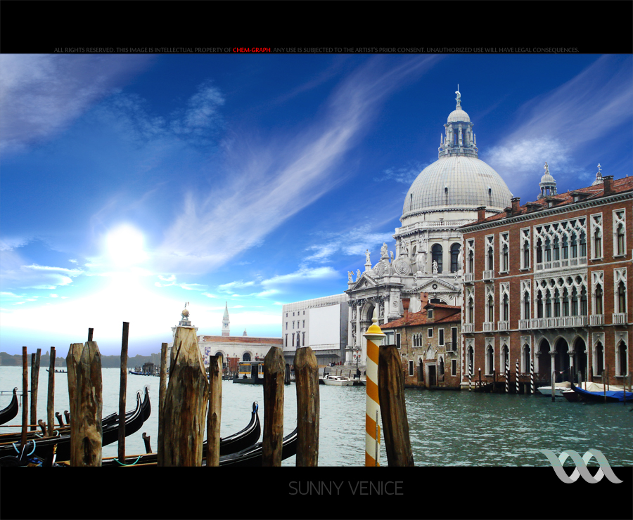 sunny venice by chem-graph